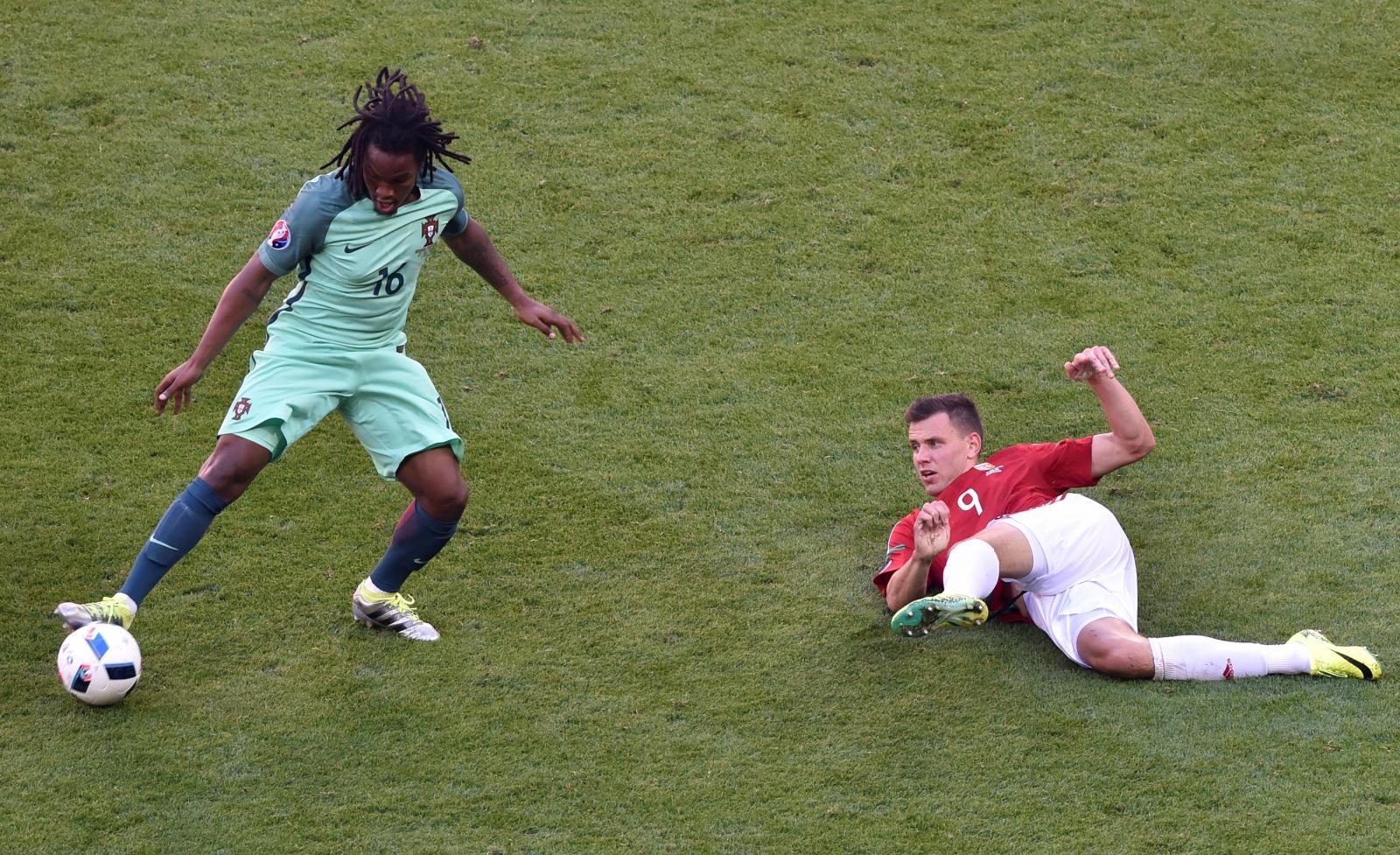 Renato Sanches on the ball