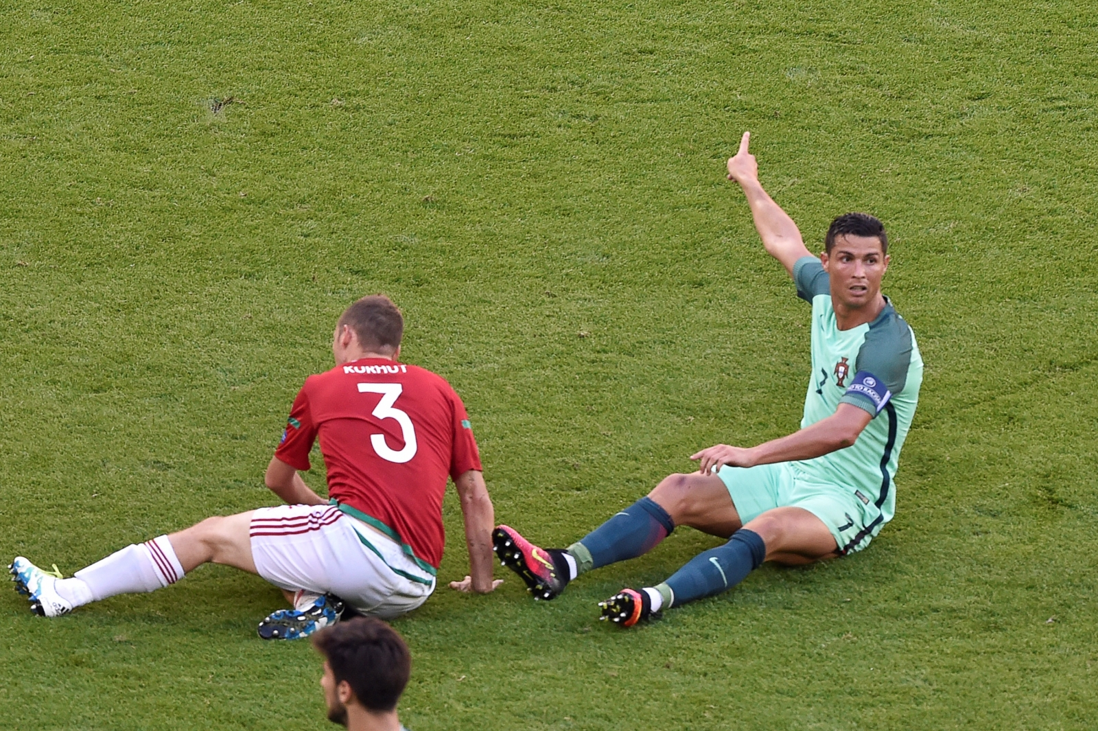 Ronaldo was involved in everything