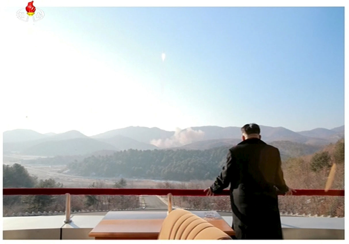 North Korea missile launch Kim Jong-un