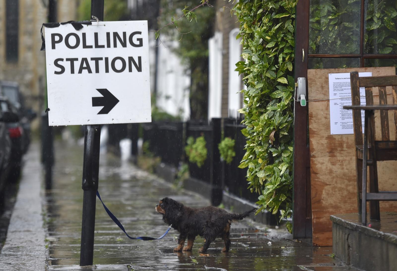 EU referendum polling station London