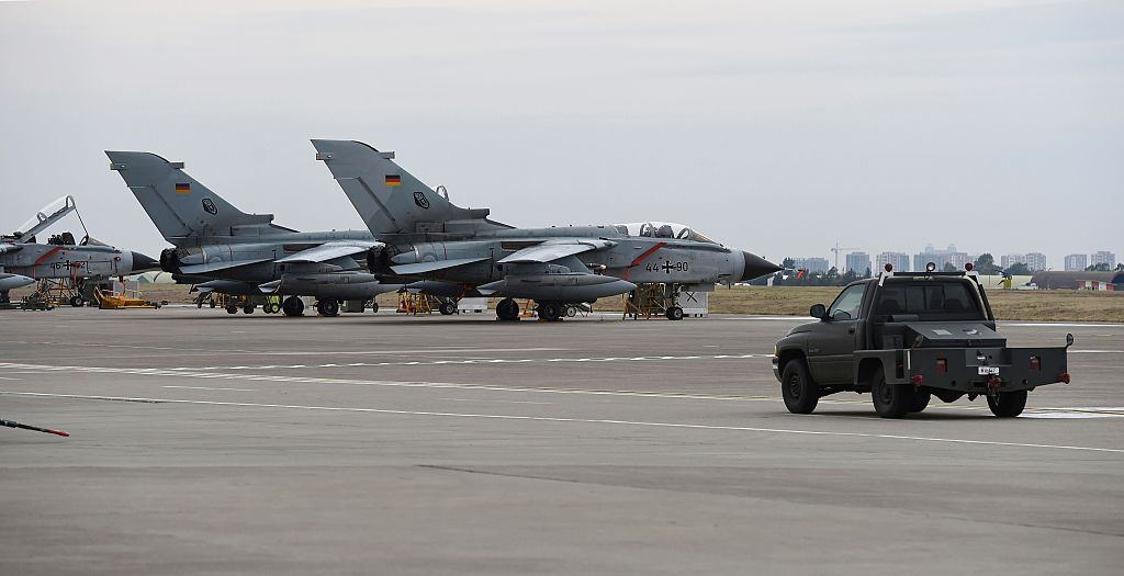 German Tornado jets Incirlik