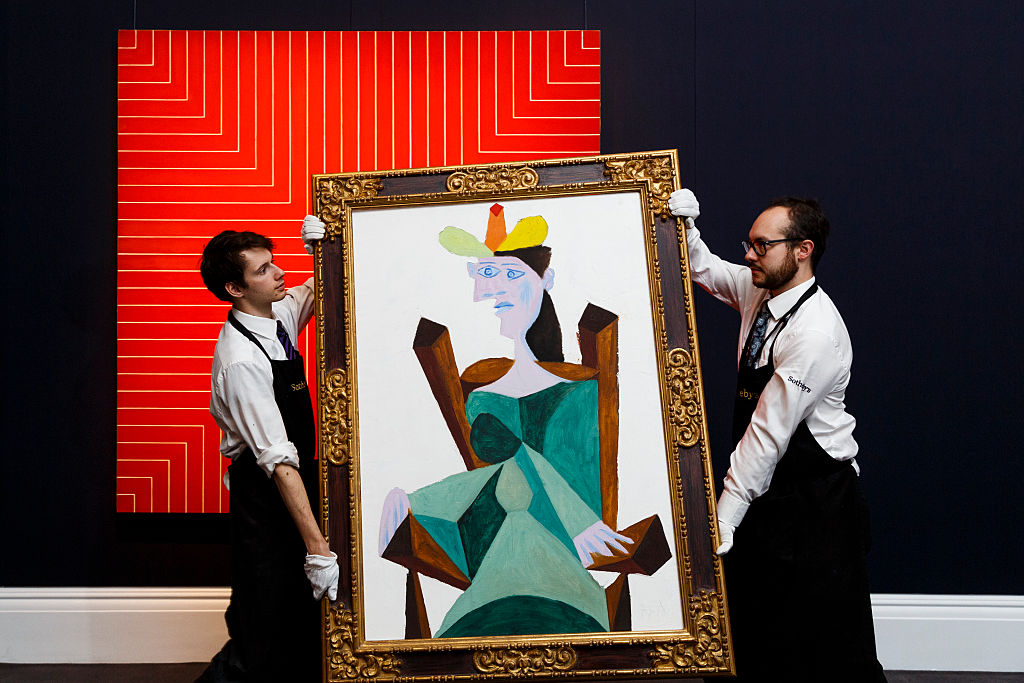 Picasso auction