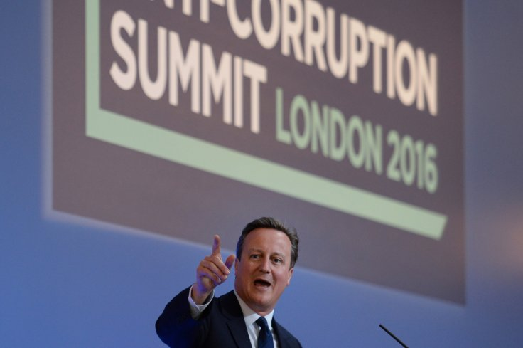 Prime Minister David Cameron hosted the anti-corruptionsummit