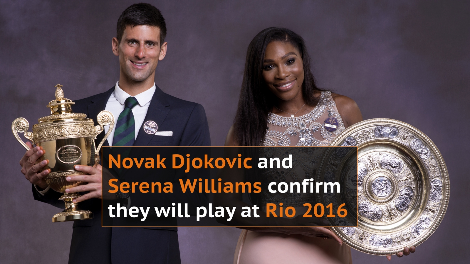 Rio Olympics: Novak Djokovic and Serena Williams confirm they will play despite Zika virus fears
