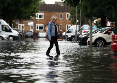 London flooding