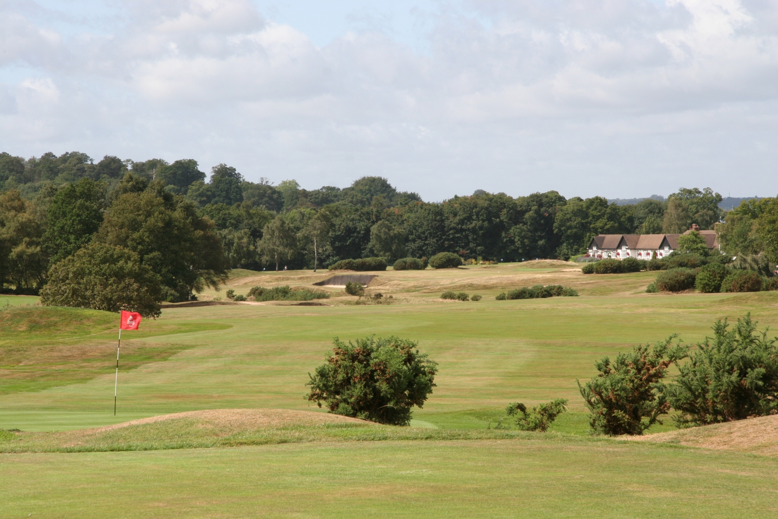 The view from the fourth tee