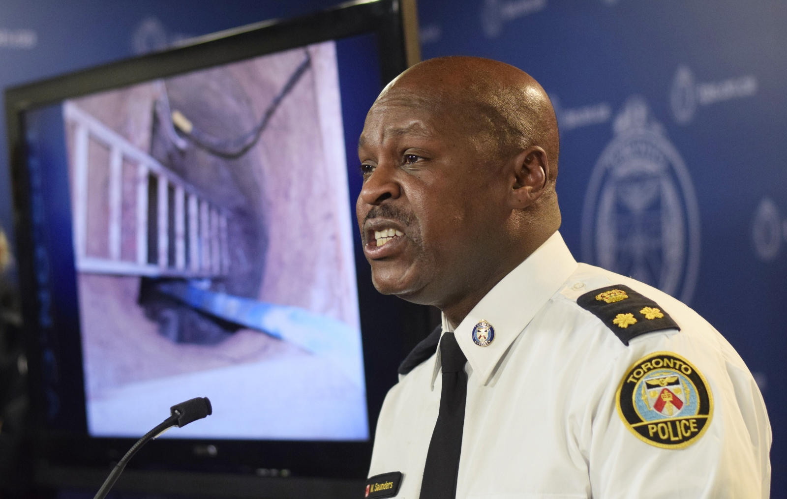 Toronto Police Service chief Mark Saunders