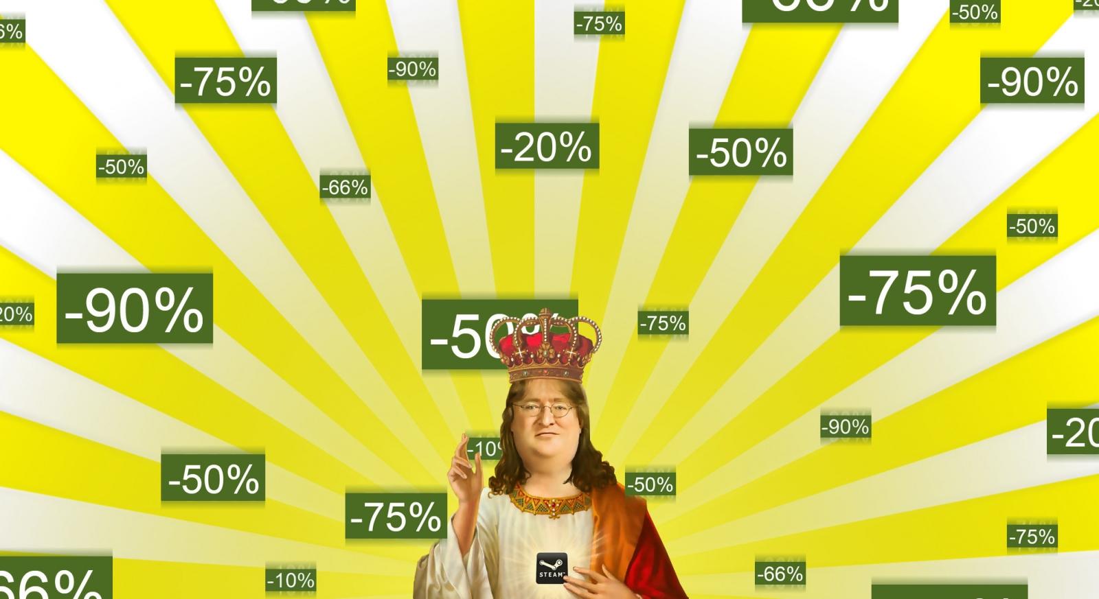 Steam Sale Gaben Gabe Newell