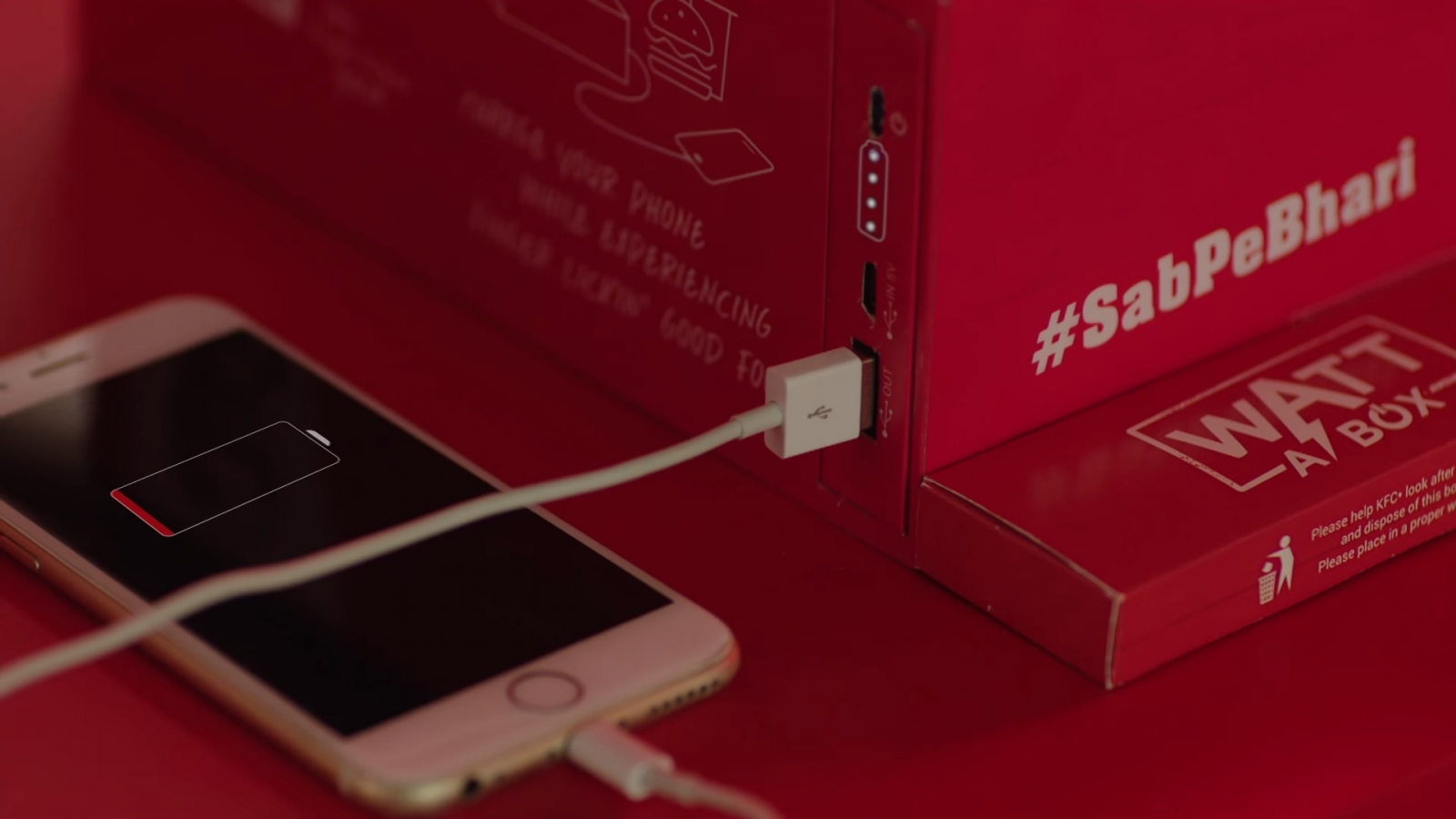 KFC's Watt a Box lets you charge your smartphone while you ...