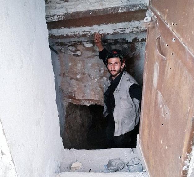 Abu Bakr al-Baghdadi mansion