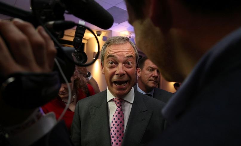 Nigel Farage EU count