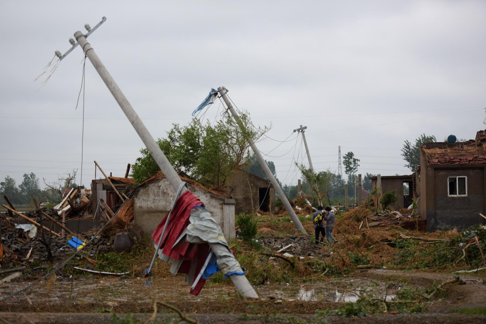 China tornado
