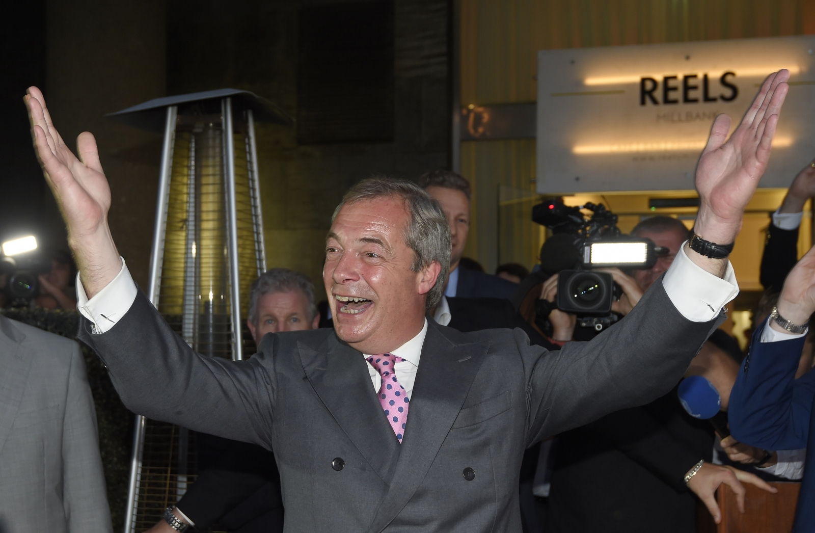 Nigel Farage EU referendum