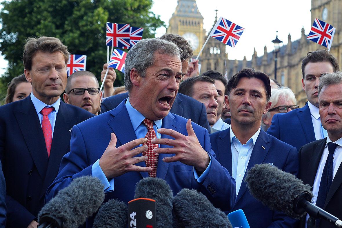 Brexit Nigel Farage