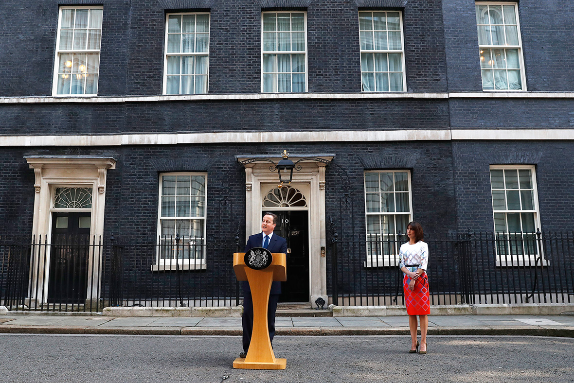 Resigns read the outgoing prime minister s resignation speech in full