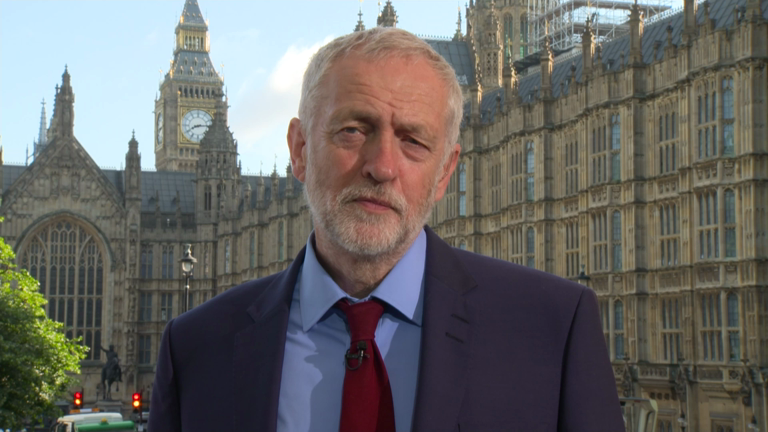 Jeremy Corbyn says he won't resign despite Brexit result