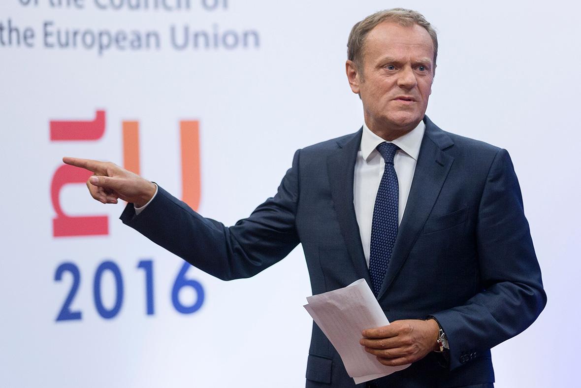 Brexit Donald Tusk