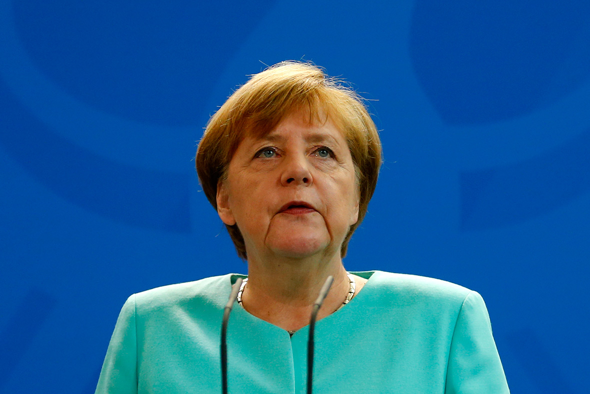 Angela Merkel 'with deep regret' acknowledges brexit