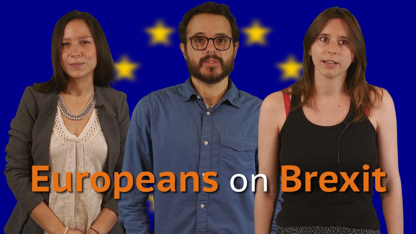 Europeans react to Britain's Brexit vote