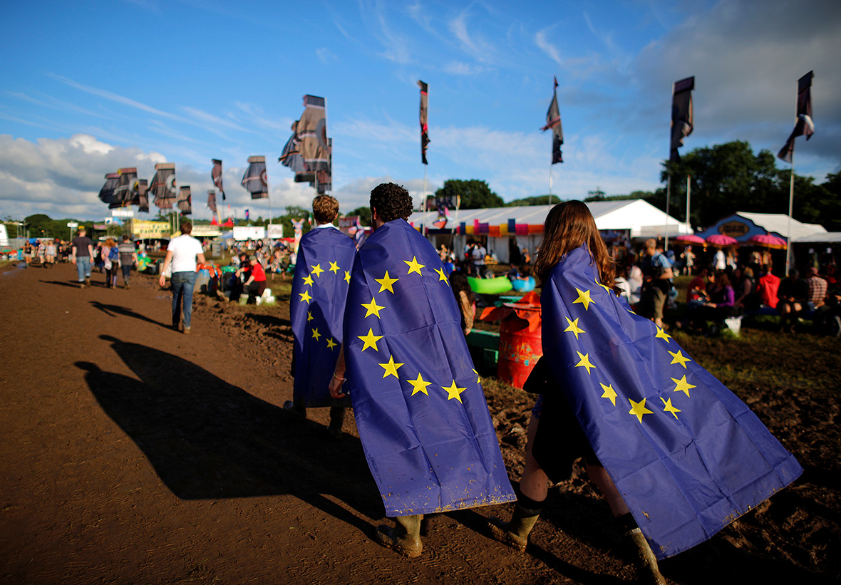 Brexit: Young people at Glastonbury Festival react to EU referendum