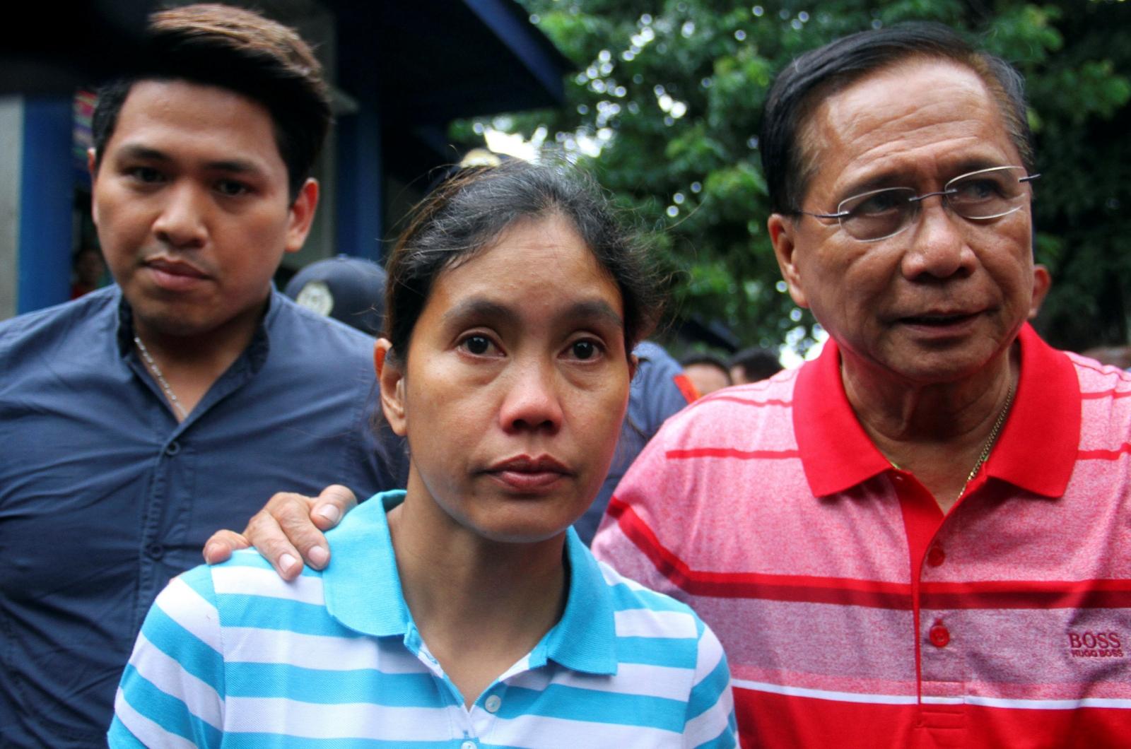 Filipina kidnap victim Marites Flor