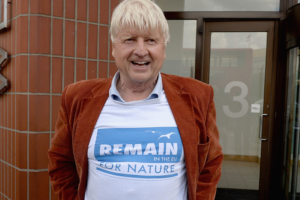 Brexit Stanley Johnson