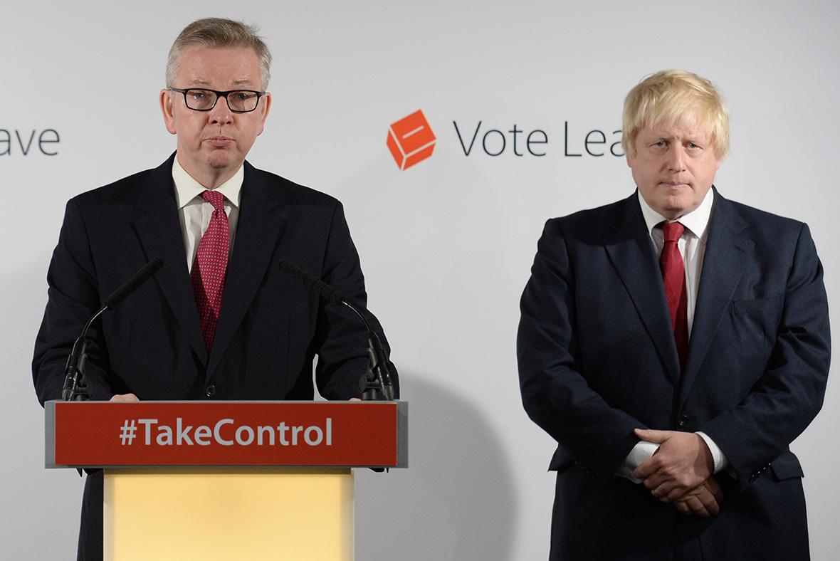 Brexit Johnson Gove