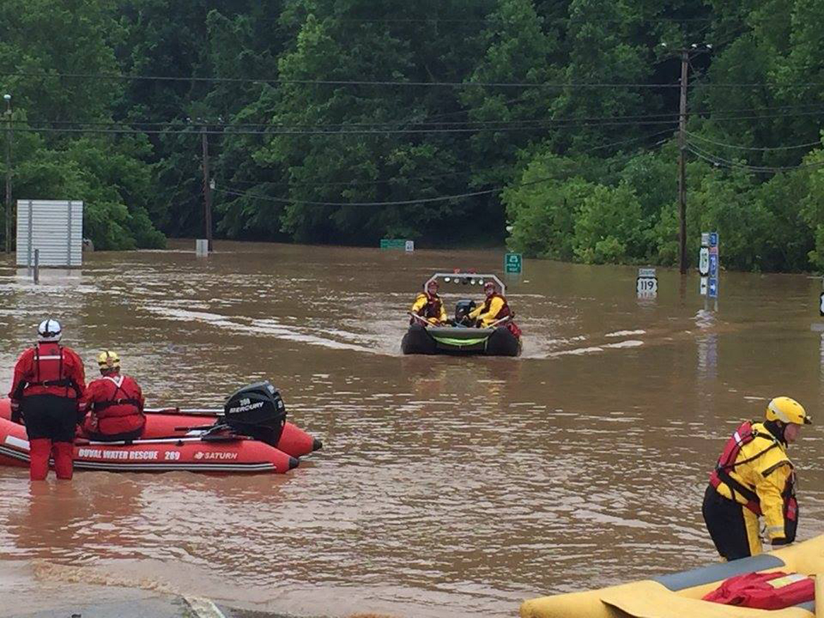 West Virginia floods