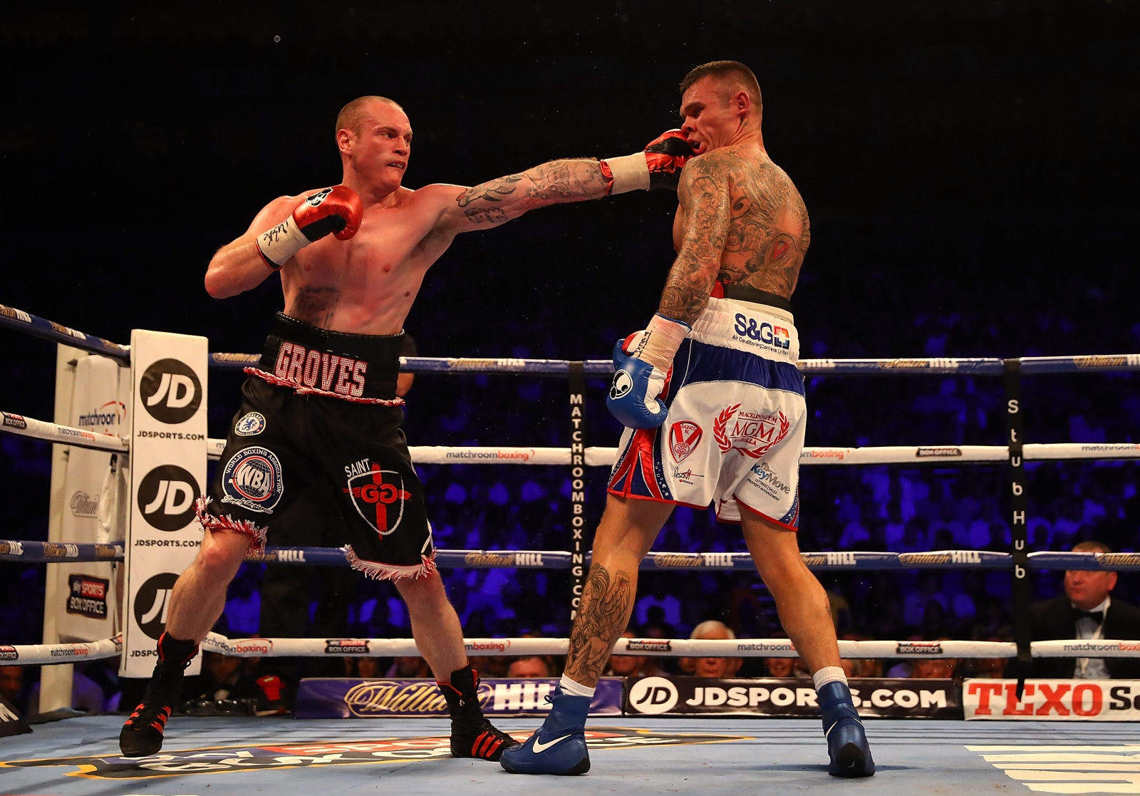 George Groves vs Martin Murray