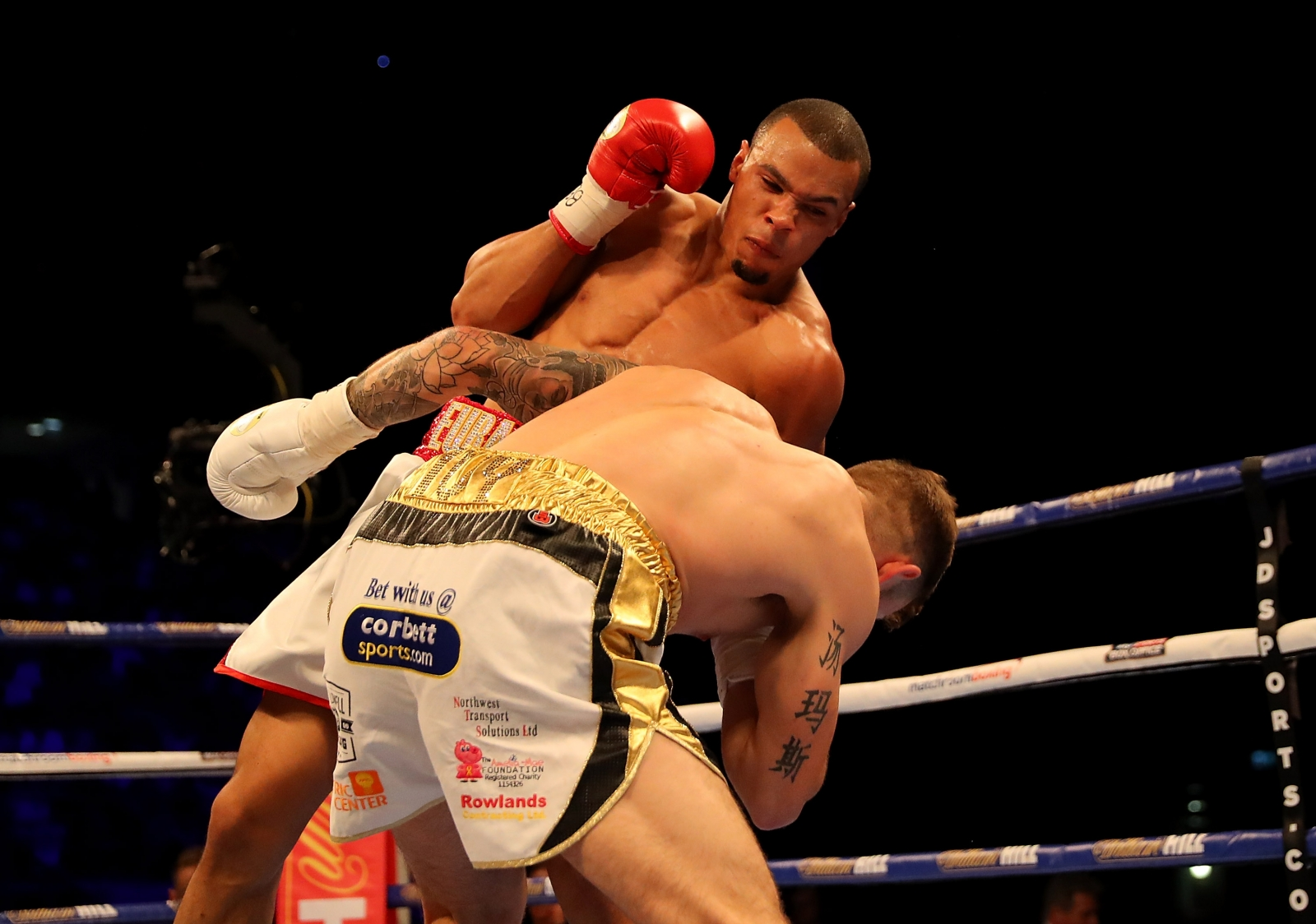 Chris Eubank Jr vs Tom Doran