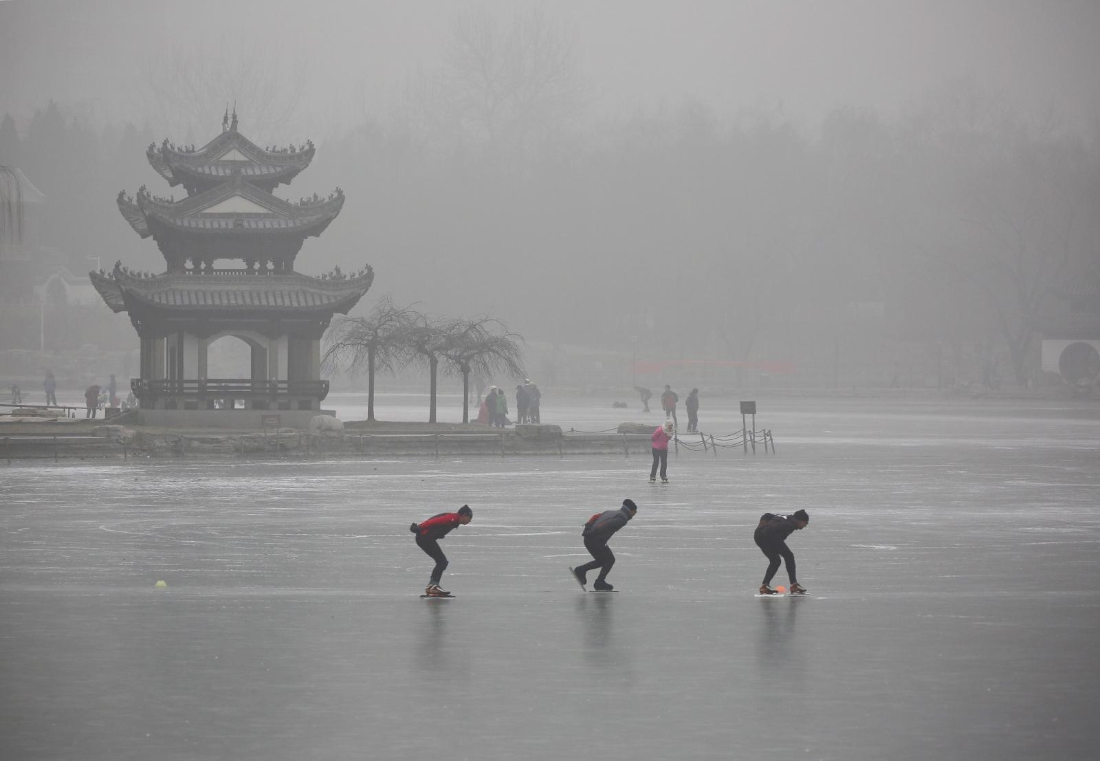 beijing sinking water stress china population