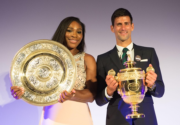 Novak Djokovic serena williams