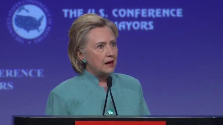 Clinton says the US needs 'steady, experinced leadership' following Brexit turmoil