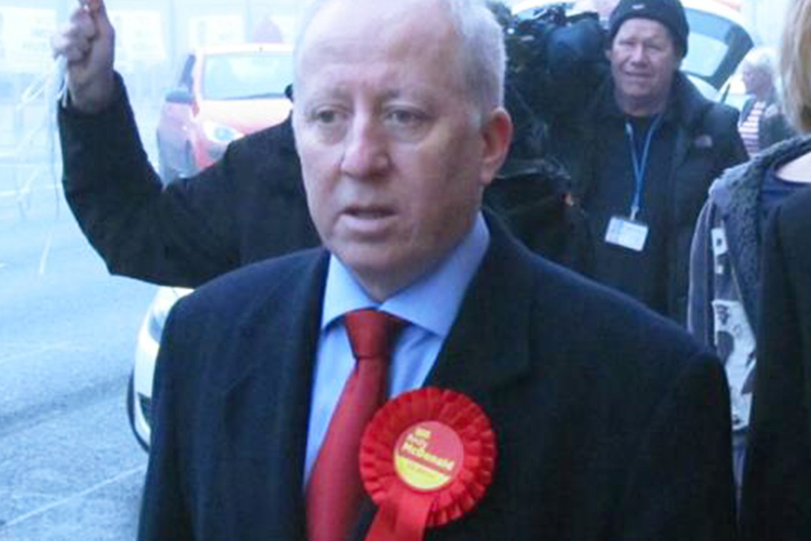 Labour: Andy McDonald