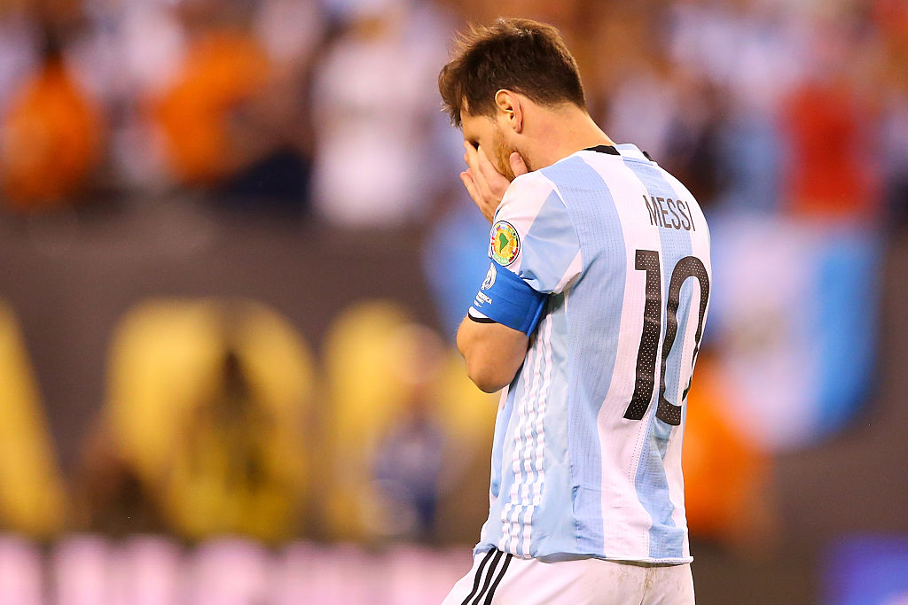 Messi announces retirement from international