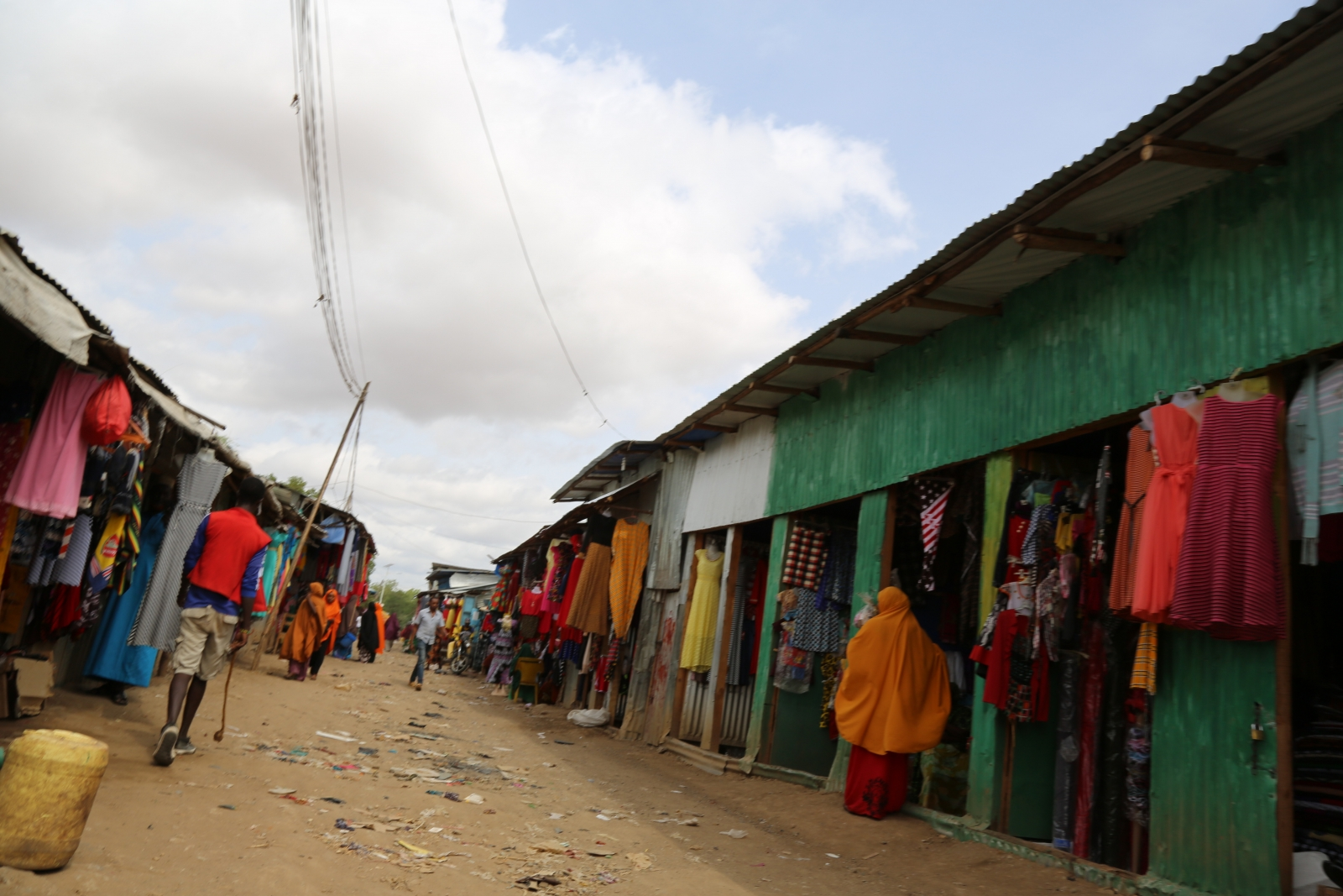 Somali community in Kakuma refugee camp