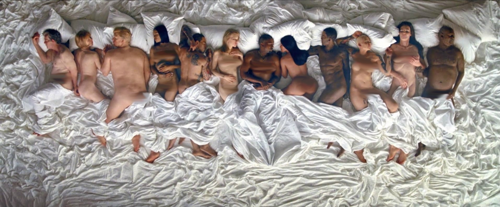 Kanye West Famous Video A Naked Taylor Swift And Amber -3052