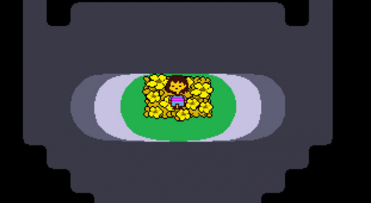 Undertale start underground image