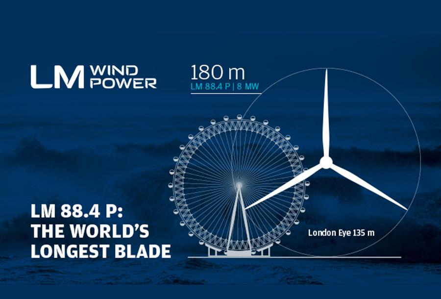 World's biggest wind turbine blade