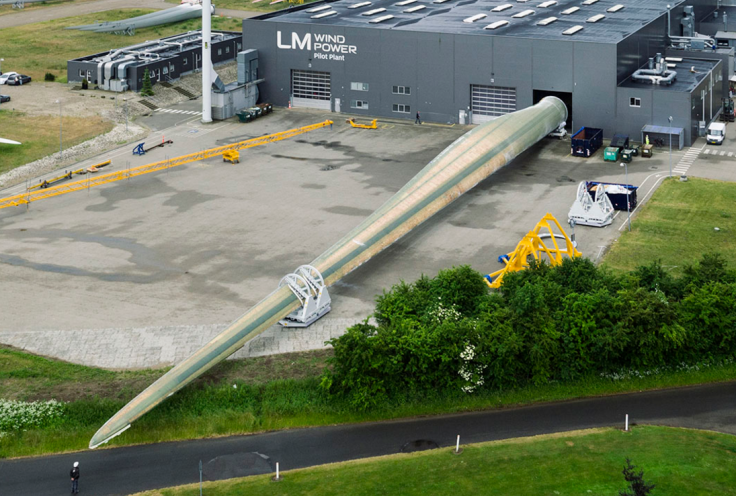 World's biggest wind turbine blade