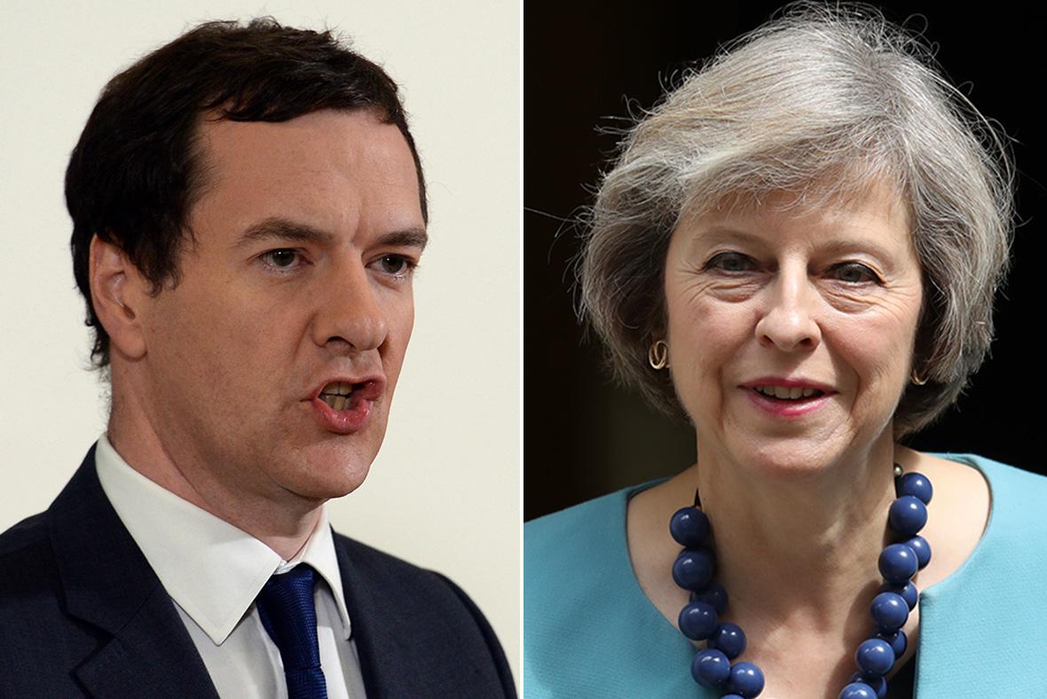 George Osborne, Theresa May