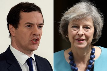 George Osborne, Theresa May