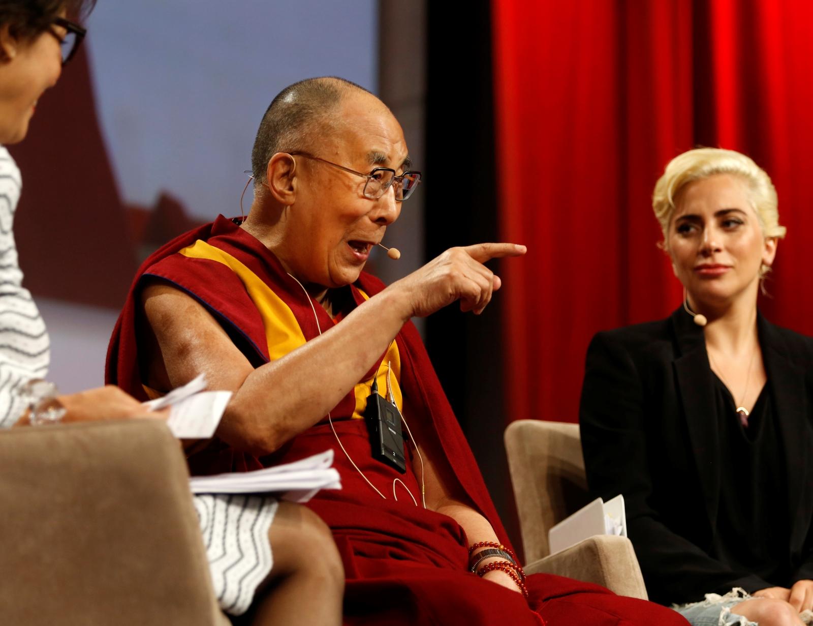 Dalai Lama, Lady Gaga