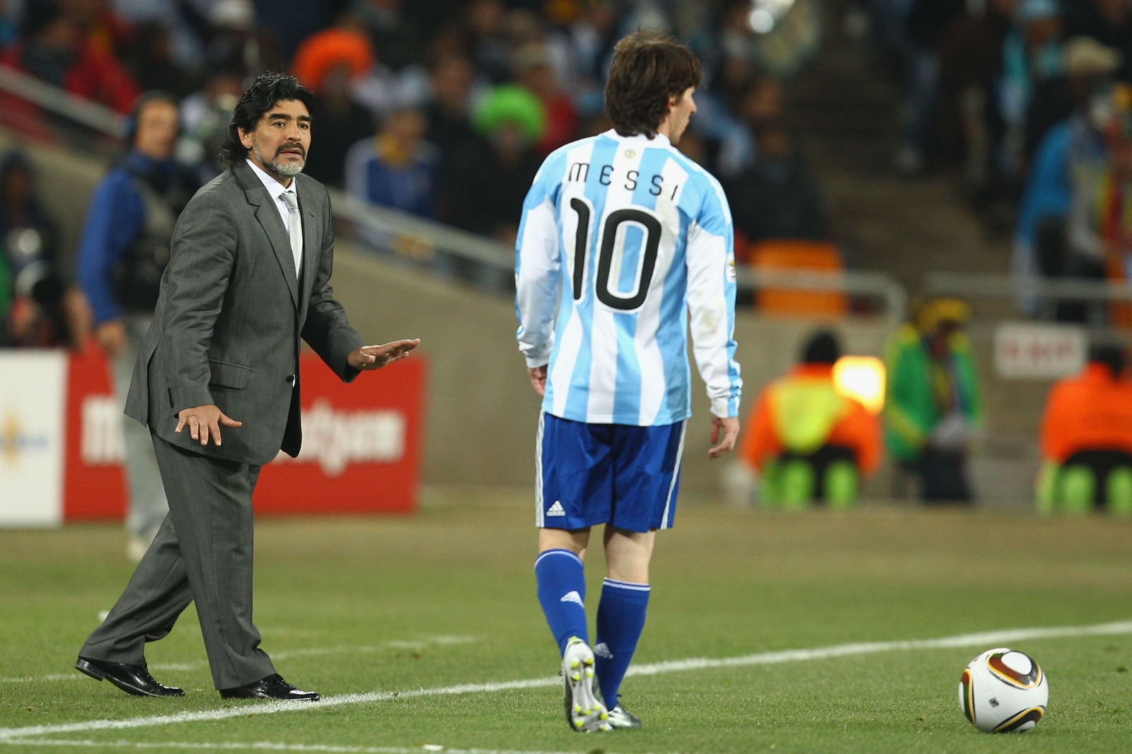 Lionel Messi retirement: Diego Maradona urges fellow ...
