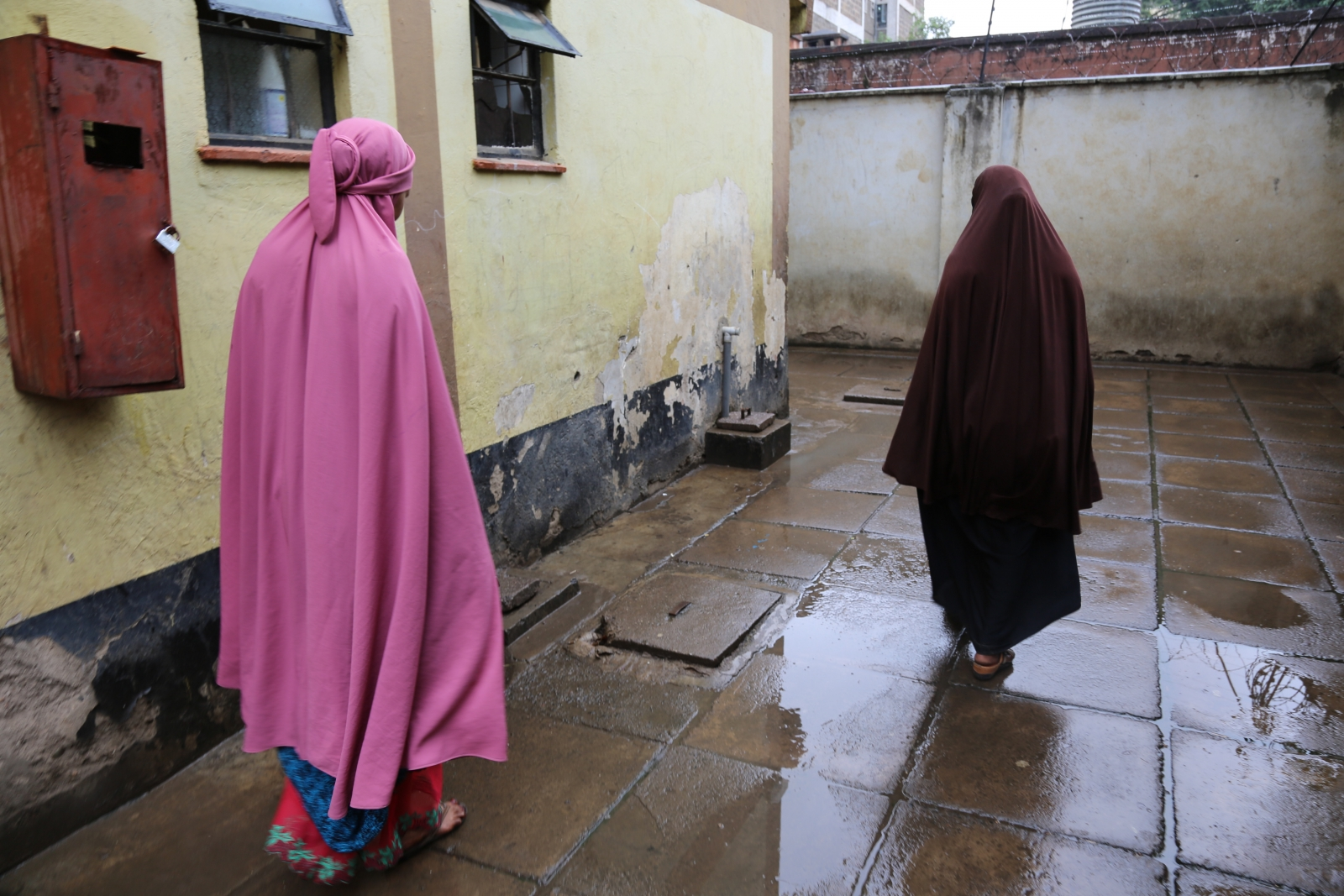 Somali refugees escaped Kakuma for Nairobi