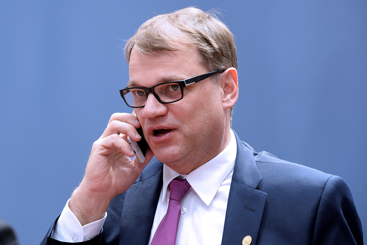 EU Summit: Juha Sipila