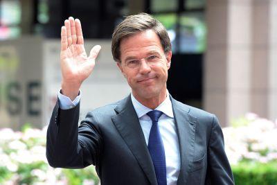 EU Summit Mark Rutte