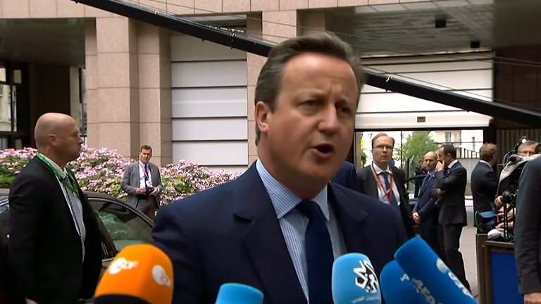 Cameron wants EU split to be as 'constructive as possible'