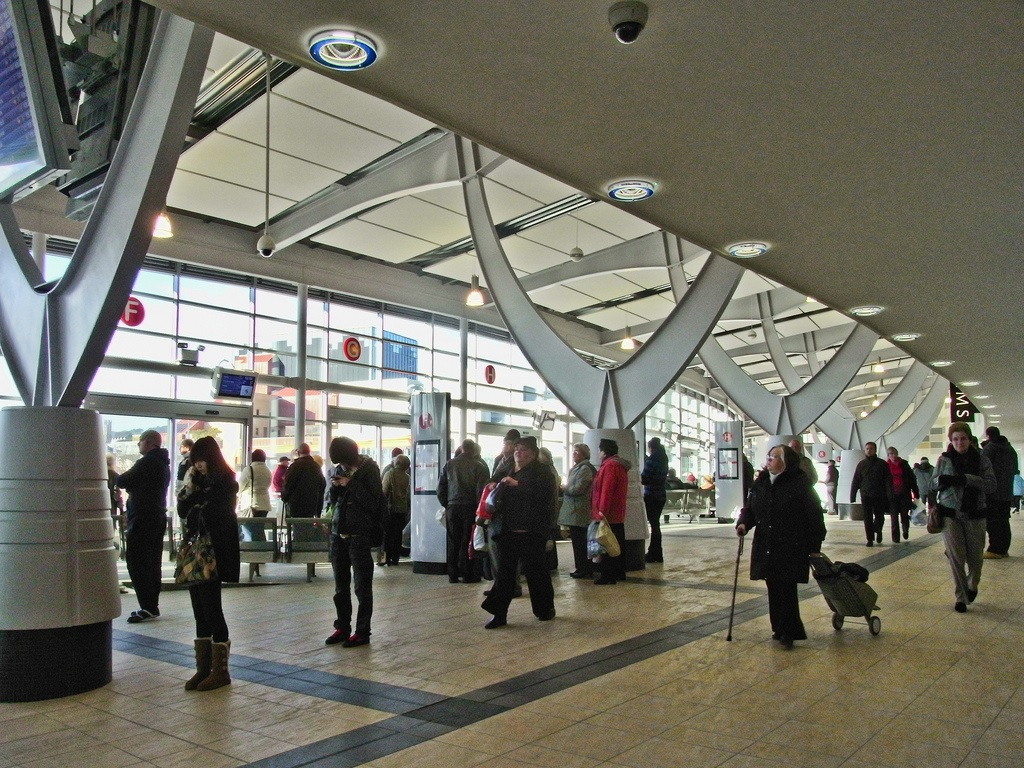 Swansea bus station
