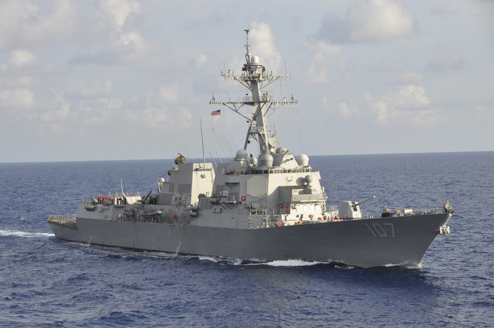 USS Gravely Russia warships